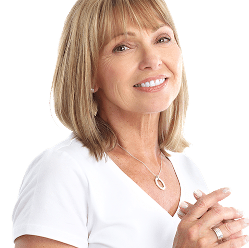 picture of middle aged woman smiling