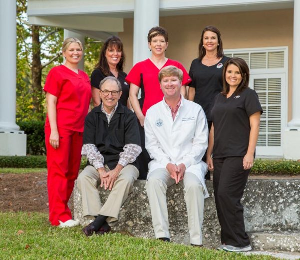 picture of the dental team at Plantation Dental